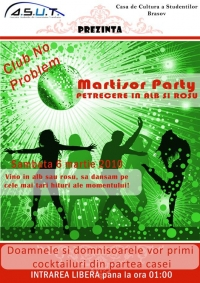 "ASUT Basov va invita la ""Martisor Party"""