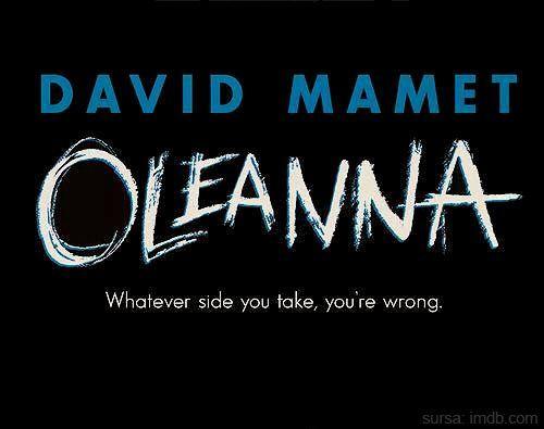 oleanna by david mamet essay