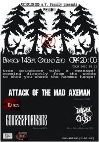 The Attack Of The Mad Axeman, Coins As Portraits si Deliver The God in Ground Zero