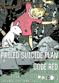 Failed Suicide Plan si Code Red in concert