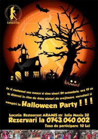 Academia de Dans va invita la Halloween party