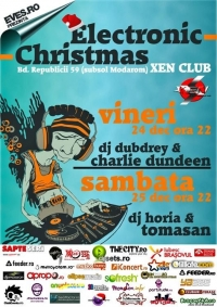 Brasov Electronic Christmas in Xen Club