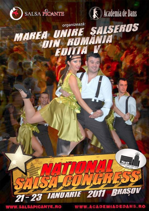 Congresul National de Salsa Brasov 2011