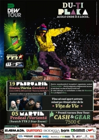 Ultima etapa Dew Tour 2011 in Predeal