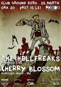 Concert The Hellfreaks & Cherry Blossom in Ground Zero Brasov