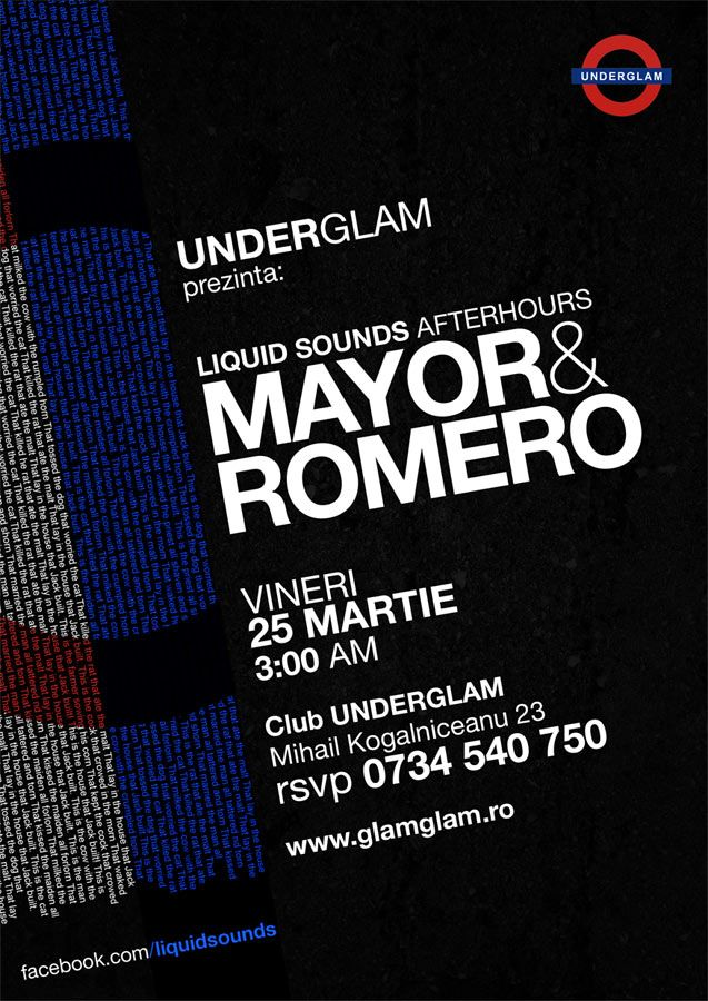 Liquid Sounds afterhours cu Mayor & Romero