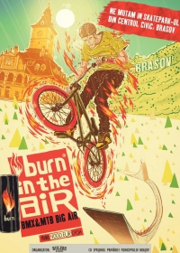 Burn in the Air in Centrul Civic din Brasov