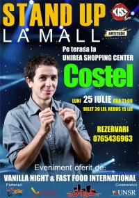 Stand UP la mall alaturi de Costel