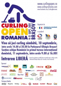 Curling Open Romania 2011 in Brasov