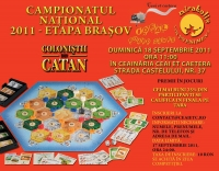Campionatul National de Colonistii din Catan, etapa locala Brasov, in data de 18 septembrie
