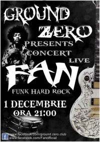 Concert live trupa F.A.N. in Ground Zero