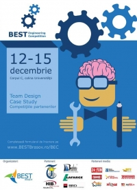 "BEST Engineering Competition, 12 – 15 decembrie, in corpul C al Universitatii ""Transilvania"""