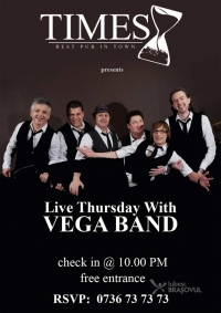 Concert Vega Band in Times