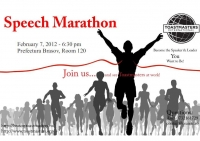 The Speech Marathon by Brasov Toastmasters Club