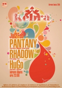 Party Pantany, Rhadow, Hugo in Kebra Brasov