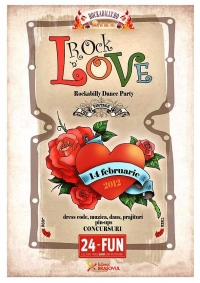 Rock 'n' Love - Rockabilly Dance Party de Valentine's Day