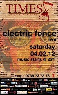 Concert Electric Fence in Times Pub