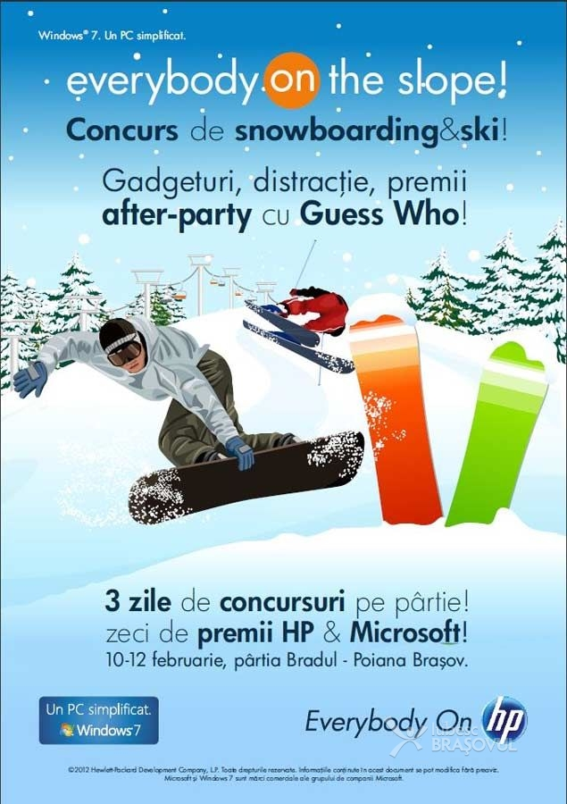 """Everybody On The Slope"" competitii de schi & snowboarding in Poiana Brasov"