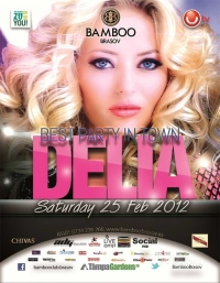Party cu Delia in Bamboo