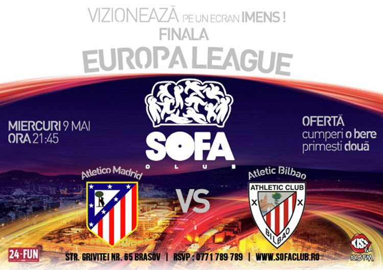Finala Europa League: Atletico Madrid vs. Atletic Bilbao