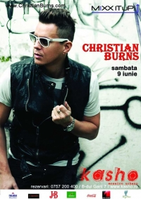 Christian Burns la Kasho Club