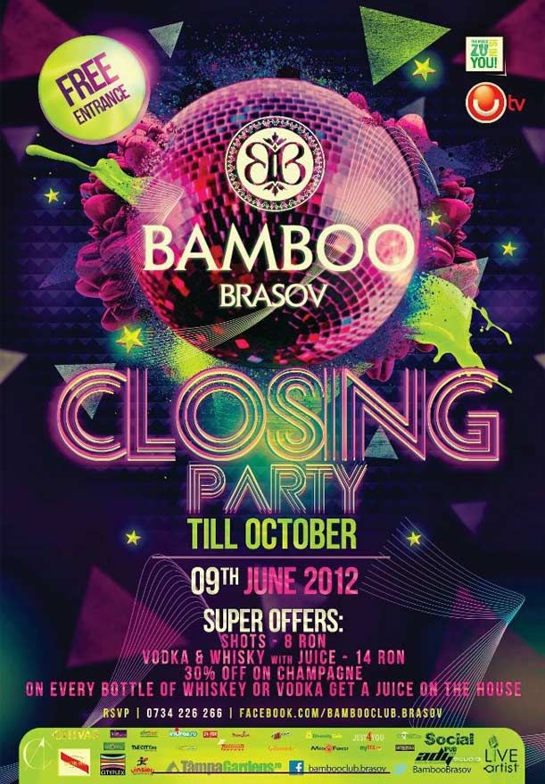 Closing Party! in club Bamboo
