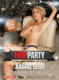 FHM party in Kasho Club cu Daiana Anghelescu