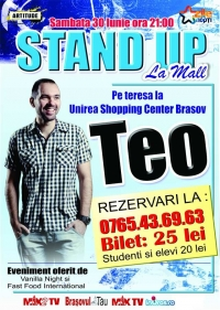 Stand up la mall cu Teo