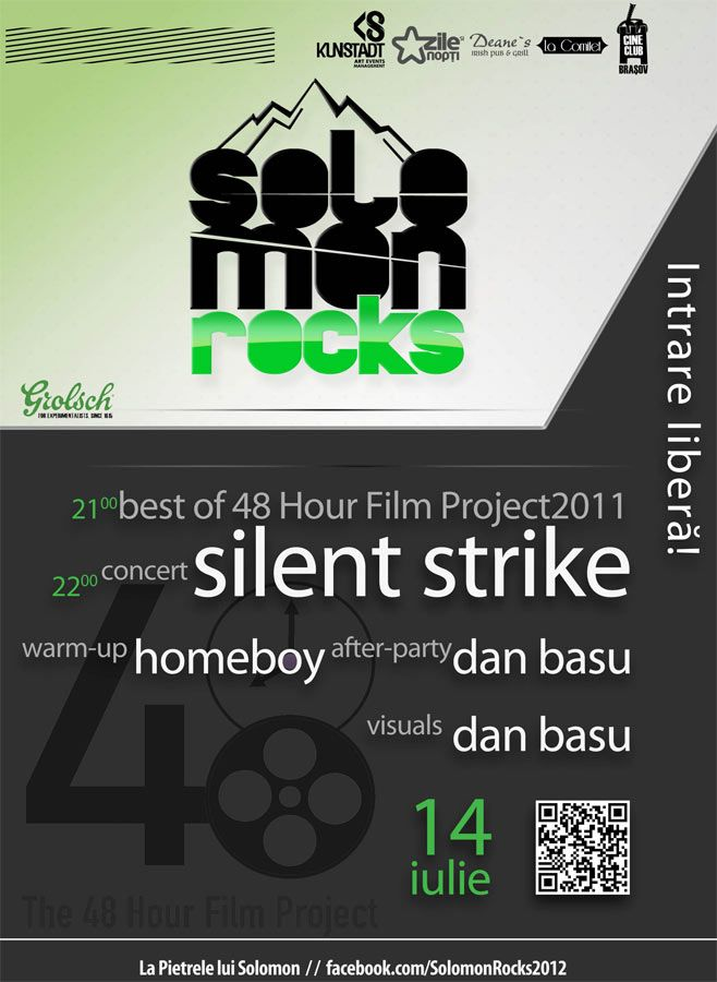 Silent Strike şi Filmele de top 48 Hour Film Project 2011 la Solomon Rocks