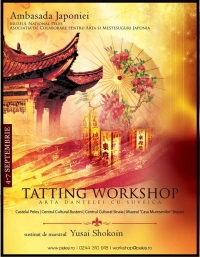 Tatting Workshop - arta dantelei cu suveica