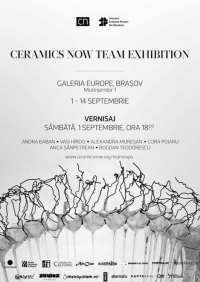Ceramics Now Team Exhibition în Galeria Europe