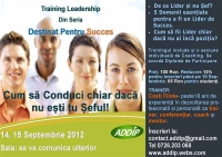 Training Dezvoltare Abilitati de Leadership