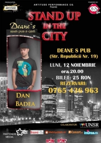Stand up in the city in Brasov cu Dan Badea