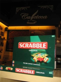 Seara de Scrabble in Cafeteca My Place