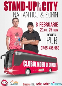Stand up in the city cu Sorin si Natanticu