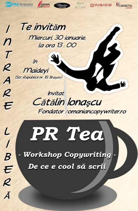 PR Tea: Workshop Copywriting