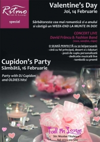 Valentine's Day la Ritmo Cafe