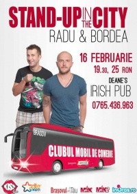 Stand up in the city cu Bordea si Radu