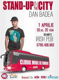Stand up in the city cu Dan Badea