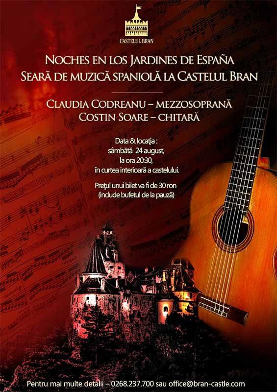 Noches en los jardines de espa a concert de muzica spaniol la castelul bran concert party - Noche en los jardines de espana ...