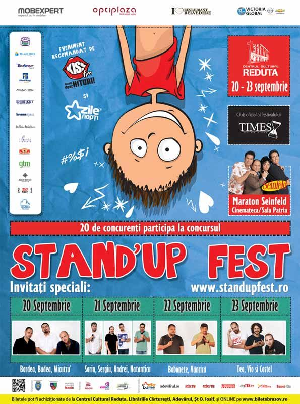 Stand Up Fest Brasov 2013 in Times pub