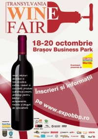 Transylvania Wine Fair in Brasov Business Park