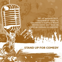Stand up for comedy