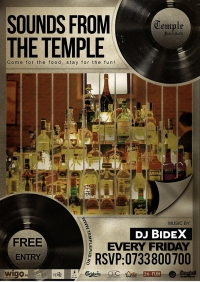 Sounds from the Temple @ Temple Pub&Grill