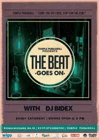 The beat goes on @ Temple Pub&Grill