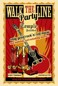 Walk the line - Rock'n Roll Night @ Temple Pub&Grill