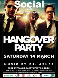 Hangover Party @ Social Pub