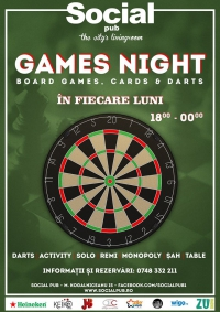 Darts & Boardgames night @ Social Pub