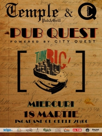 Pub Quest @ Temple Pub&Grill