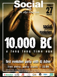 Social Evolution Party @ Social Pub
